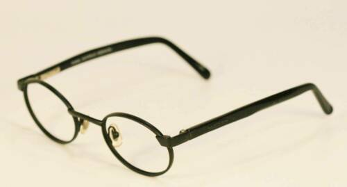 Fossil Unisex BERMUDA Matte Black Metal Eyeglass Frames Designer Rx Eyewear