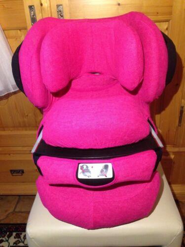 Sommerbezug Schonbezug Frottee für Cybex Junofix und Juno 2-Fix NEU pink