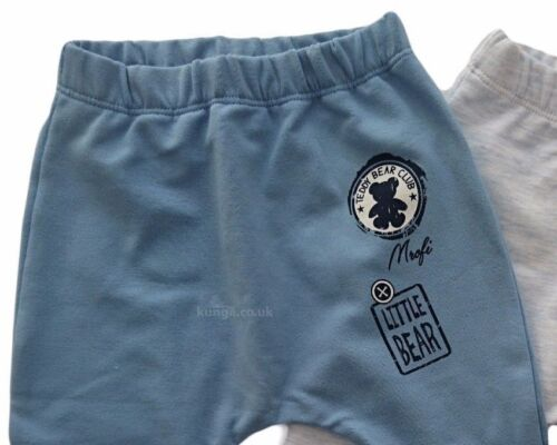 BNWT Baby Toddler Boys Trousers *High Quality Cotton 0-3//3-6//6-9//12-18 Months