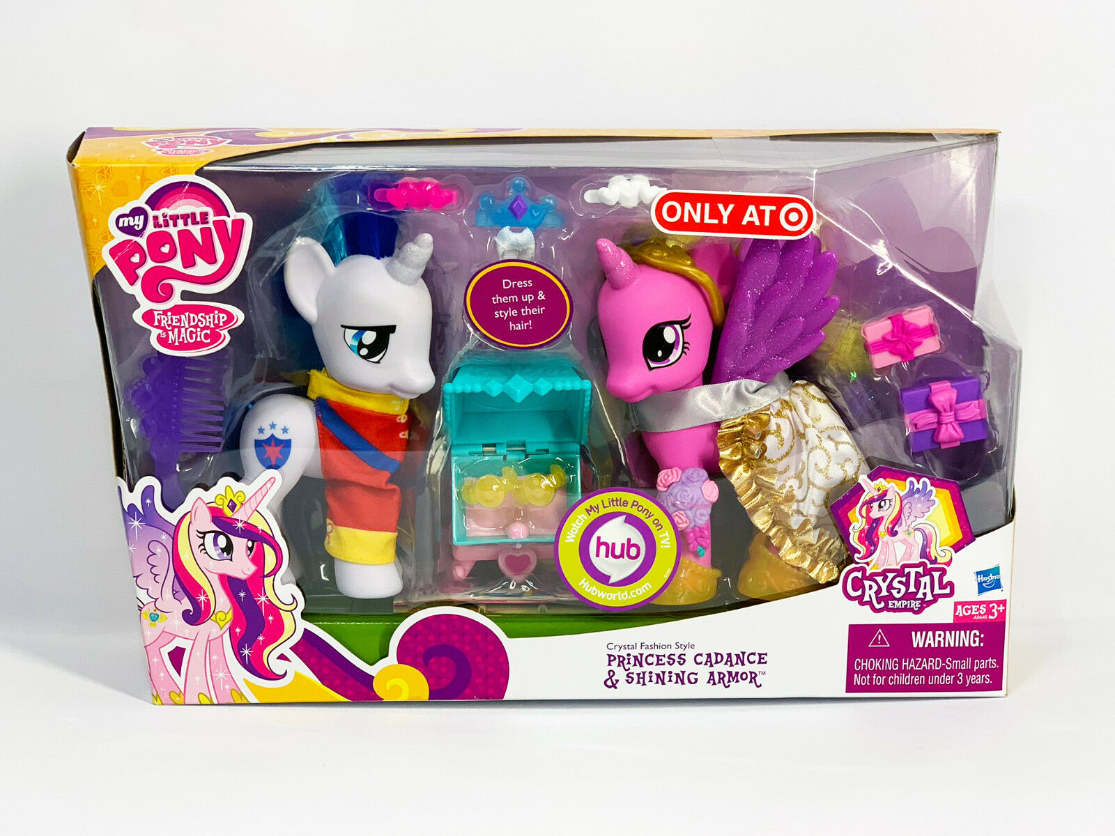 My Little Pony Crystal Fashion Style Princess Cadance & Shining Armor 2012 Set