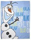 Disney Frozen Olaf Fleece Blanket 120cm X 150cm Blue A4