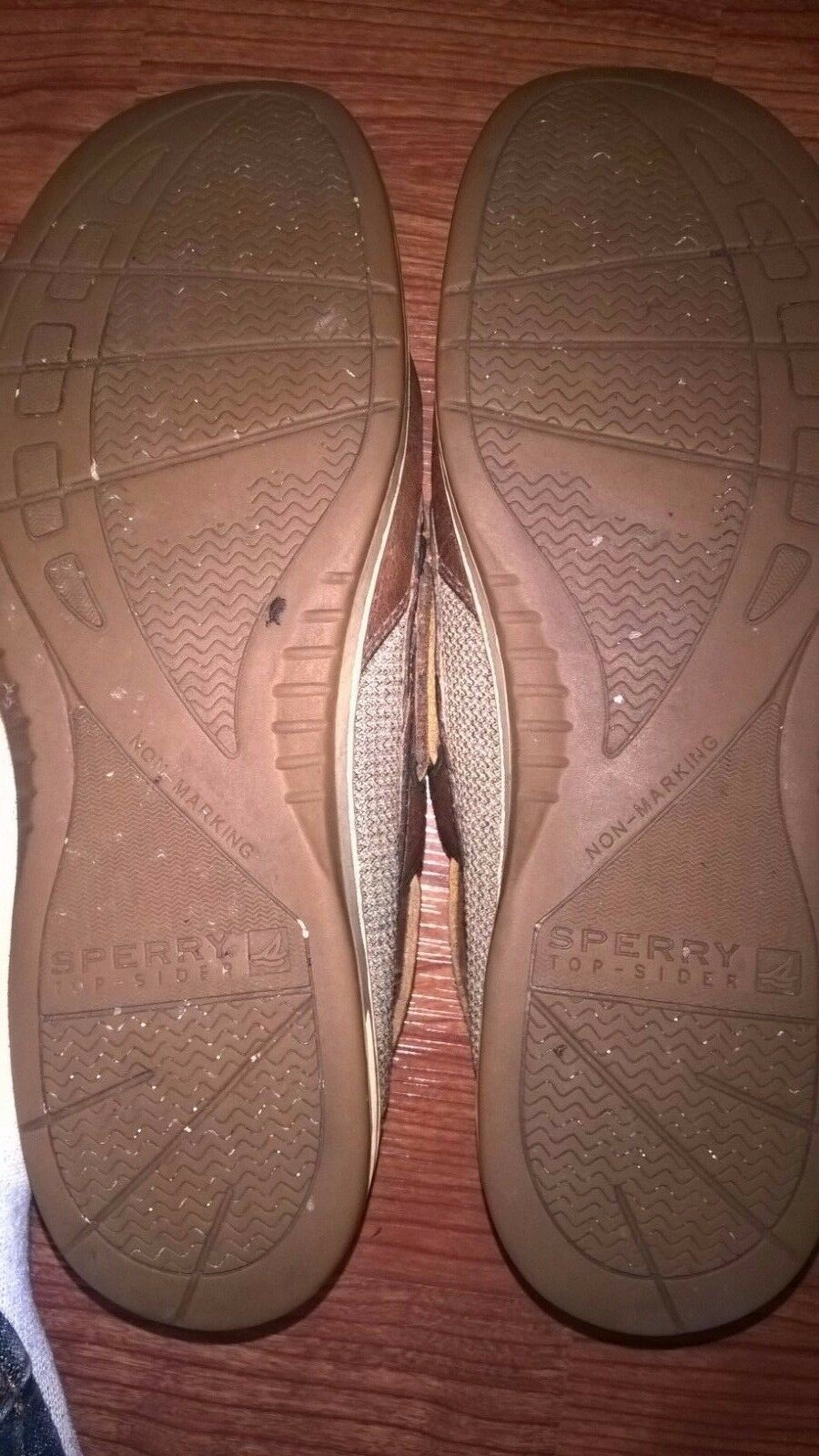 Sperry Brown Top-Sider Bluefish 2-Eye Brown Sperry Boat Shoes Sz10 EUC 066e69