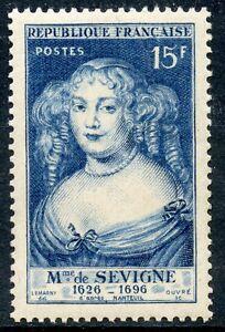 Stamp / Timbre France Luxe ** N° 874 Madame De Sevigne Pour Assurer Une Transmission En Douceur