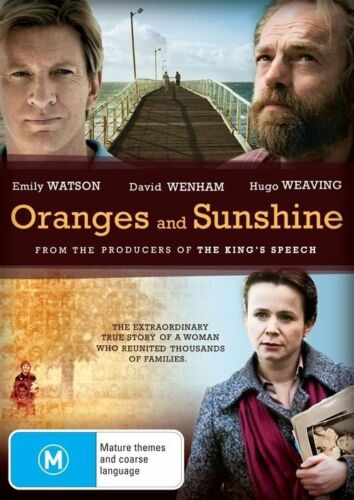 1 of 1 - Oranges And Sunshine (DVD)  Hugo Weaving - Region 4 - Very Good Condition