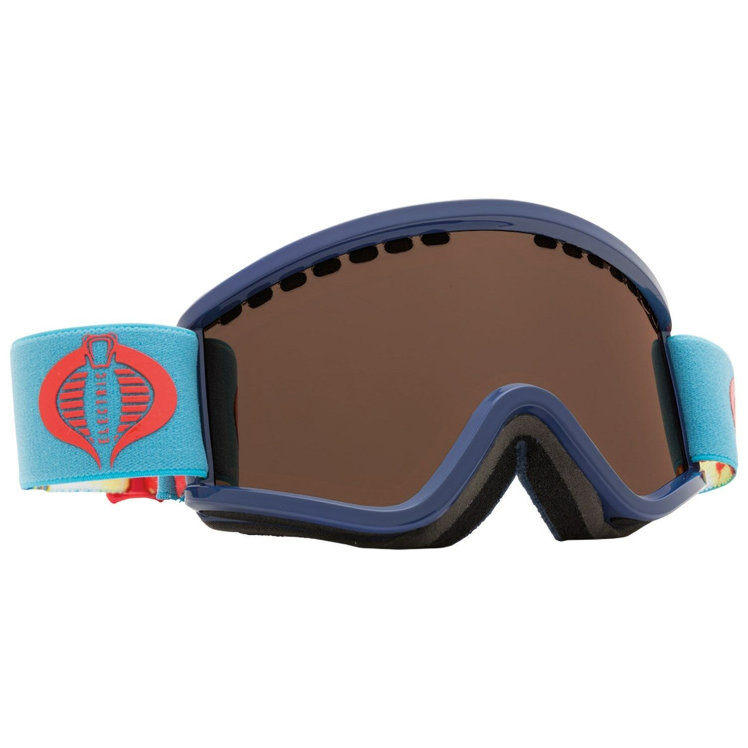 Elektrisch Visuell Egv.k G.I.Joe Cobra Jugend Snowboard Brille (Messing)