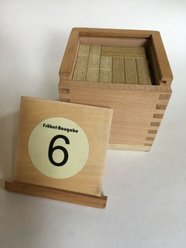 Froebel Gift Set 6 With 36 Cube And Rectangular Anchor Stone Ankerstein Blocks