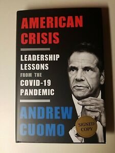 Cancelled Andrew cuomo signed book - How he took care of Elderly