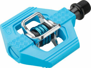 """CRANK BROTHERS CANDY 3 BLUE CLIPLESS 9//16/"""" 3-PIECE CRANK BICYCLE PEDALS"""