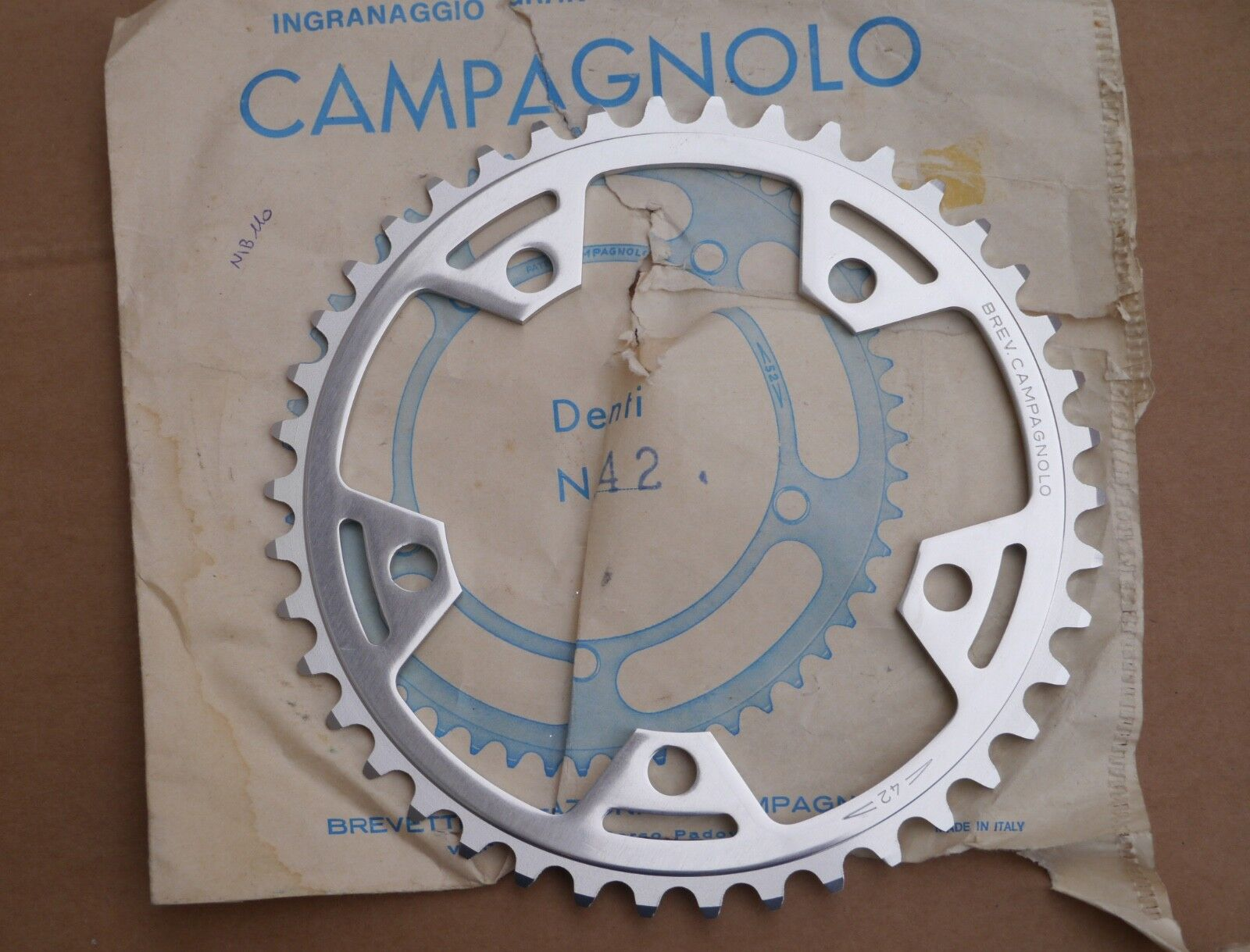 NIB Campagnolo  Victory Triomphe road bike inner chainring, 42t  outlet online store