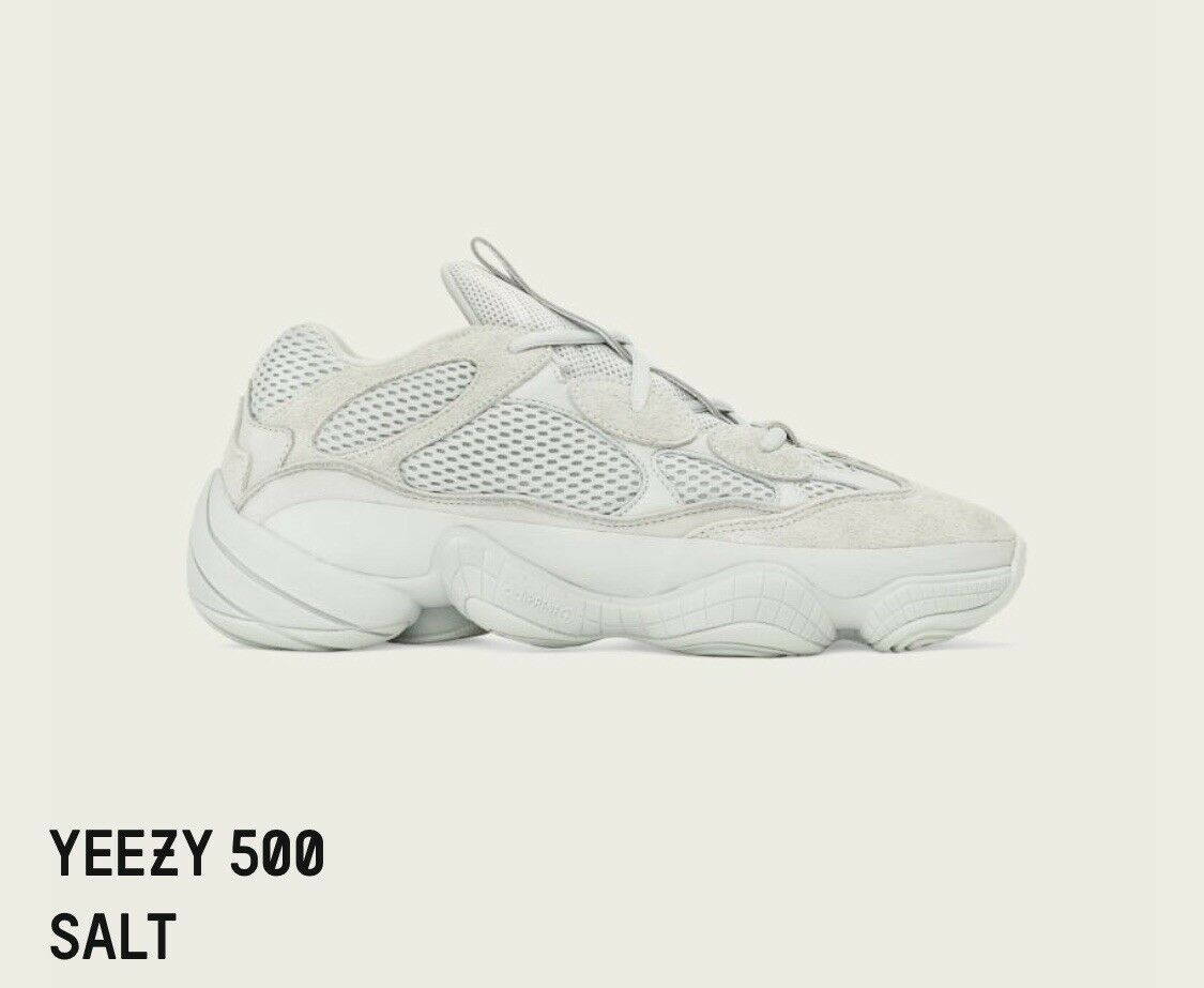23edf026c45cd YEEZY 500 NEW IN BOX SIZE 10 SALT BOOST zzmbza4568-Athletic Shoes ...
