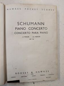 Charitable Schmann: Concerto Pour Piano, Un Mineur: Poche Musique-afficher Le Titre D'origine