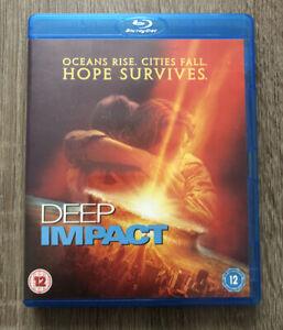 Deep Impact 1998 Blu Ray Region B Morgan Freeman Tea Leoni Elijah Wood Ebay