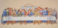 Cross Stitch Kit Janlynn / Dfn Da Vinci's The Last Supper Painting 1149-11