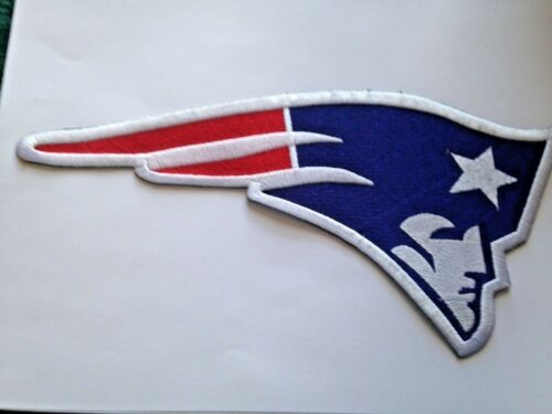 "New England Patriots Jersey Patch 10/"" Gillette Stadium Iron On Sew *Pre Order*"