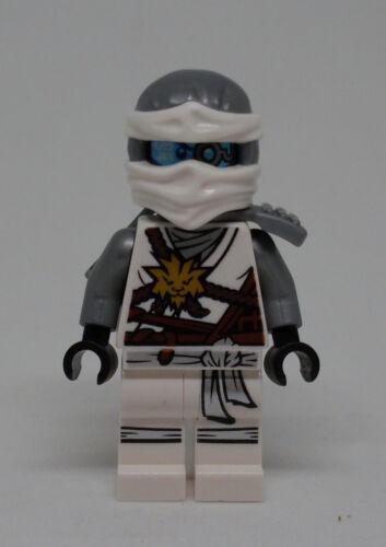 2 Gesichter mit Helm Zane Neu Lego Ninjago 70595 silber Sane Zän Figur