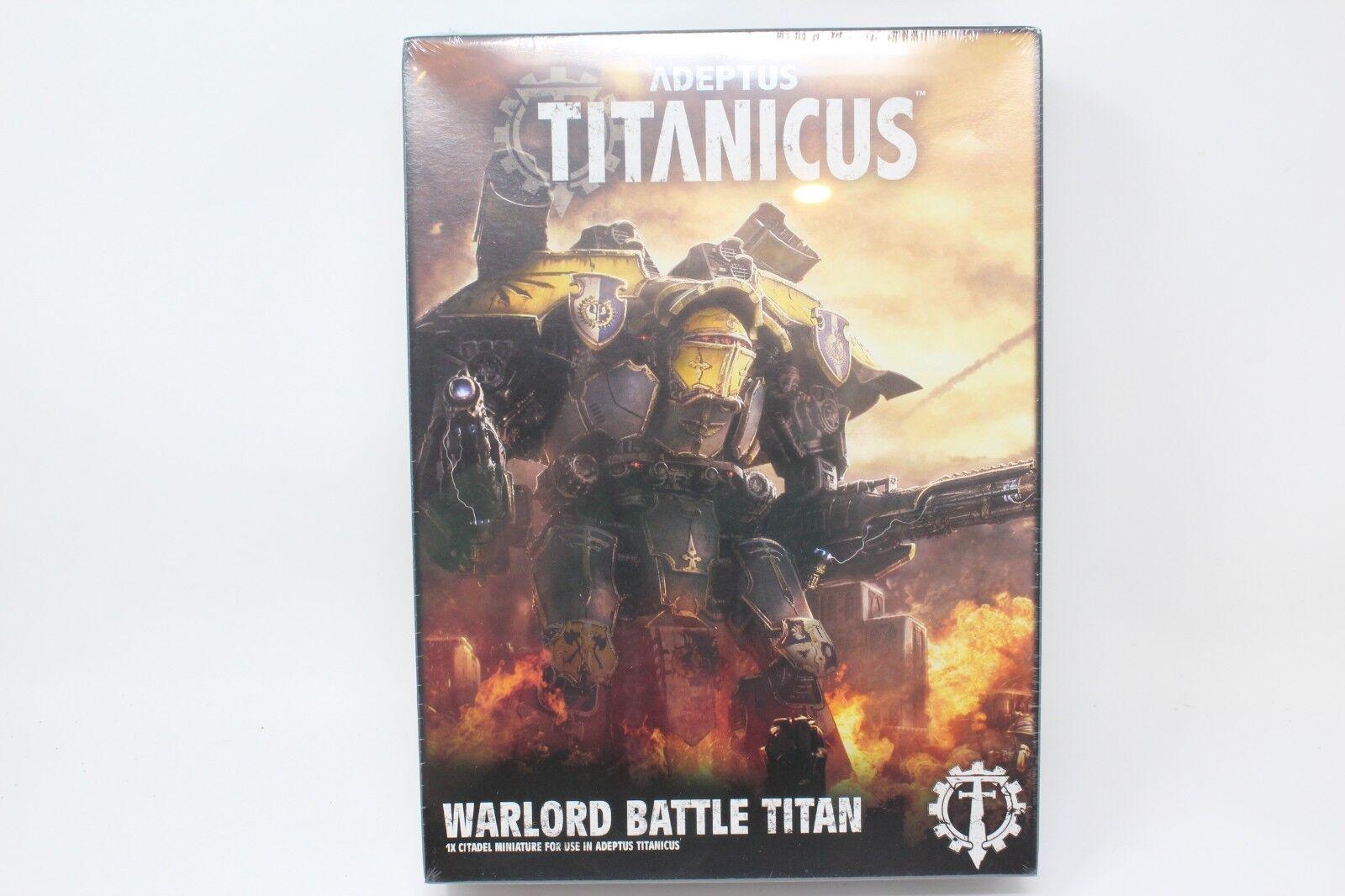 Warhammer Adeptus titanicus señor de la guerra batalla Titan Nuevo