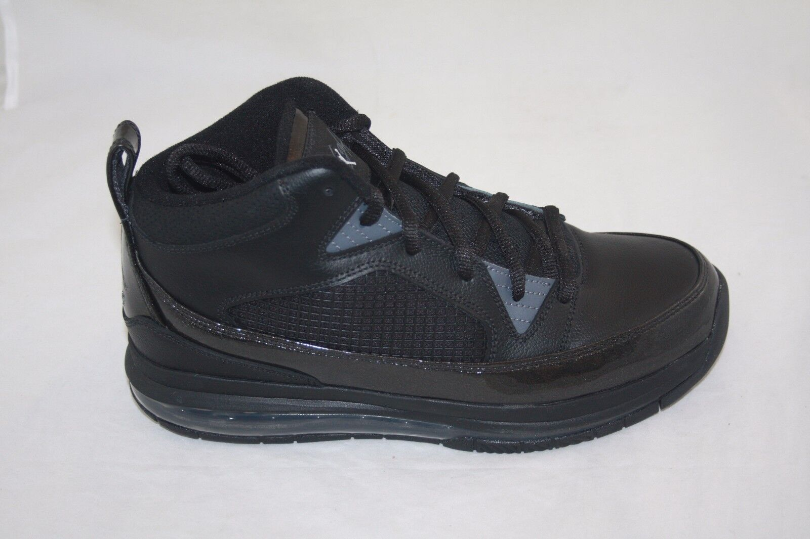 NEW MEN'S  JORDAN FLIGHT 9 MAX RST 486875-002 BLACK/DARK GREY BASKETBALL SHOE