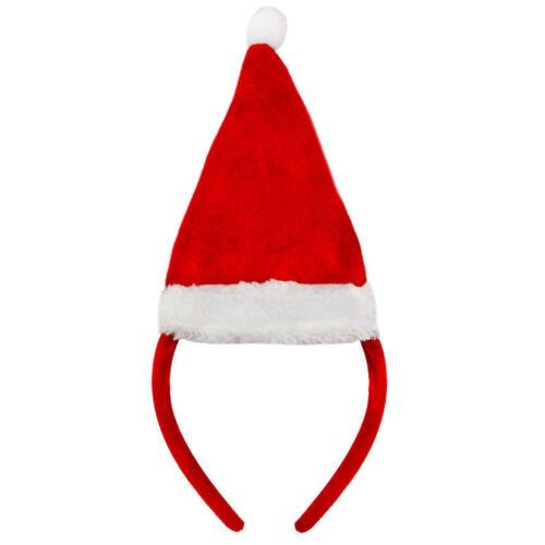 Diademas Sombreros De Navidad Festivo Navidad Reno Cornamenta Elfo Santa Fancy Dress
