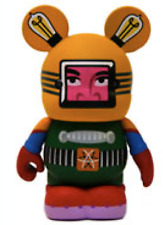 Disney Robot Series #2 Vinylmation ( Mixed Up Robot 5-6-8-11 )