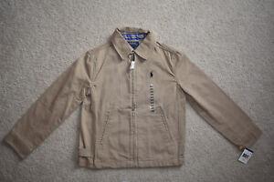 Ralph Lauren Boy Jacket Khaki Size 8