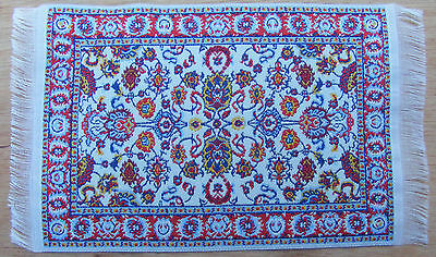 1:12 Scale 25cm x 14.5cm Woven Turkish Carpet Tumdee Dolls House Miniature P16m