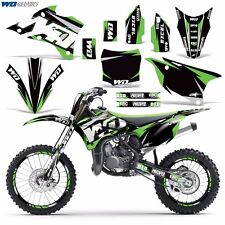 Graphic Kit Kawasaki KX 85/100 Dirt Bike MX Motocross KX85 KX100 2014-2016 WD G