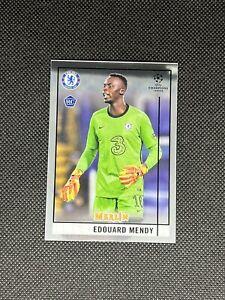 2020-21 Topps Merlin Chrome UEFA Edouard Mendy Chelsea Rookie Card #91