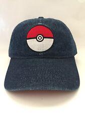 fd6d5d54c15 item 4 Pokemon Pokeball Adjustable Blue Jean Dad Hat -Pokemon Pokeball  Adjustable Blue Jean Dad Hat