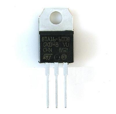 10PCS BTA16-600B 16A Triac 600V TO-220 NEW GOOD QUALITY