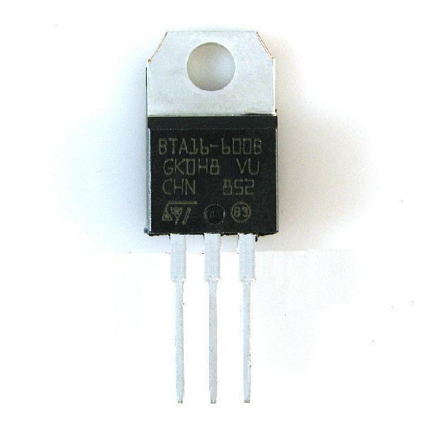 5PCS BTB16-600B BTB16-600 ST TO-220 Triac 600V 16A NEW CK
