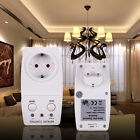 Wireless Remote Control AC Electrical Power Outlet Plug Switch Socket EU Plug