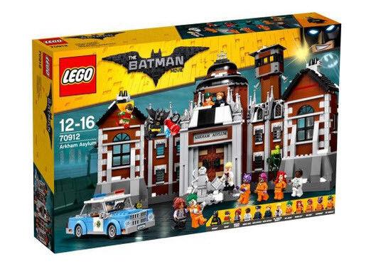 DC The Batman Movie Arkham Asylum Set LEGO 70912 NEW