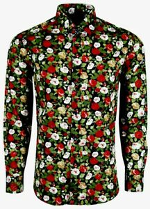 MENS-FLORAL-PATTERN-SHIRT-FOR-DRESS-WEDDING-PARTY-FORMAL-CASUAL-18-99-452
