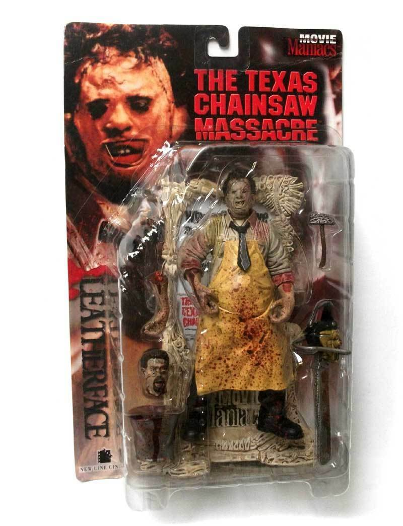 Mcfarlane film wahnsinnige texas chainsaw leatherface 6  horror - figur original