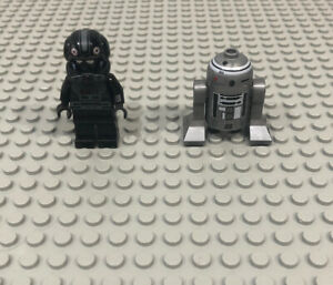 Lego-Star-Wars-R2-Q2-ASTROMECH-DROID-Imperial-V-Wing-Pilot-minifigures-Lot-7915