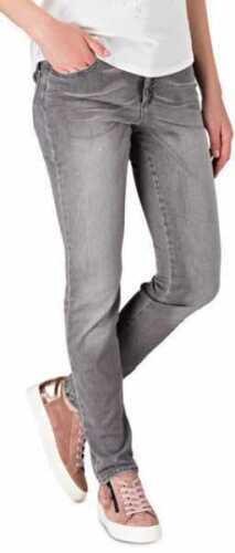 BRAX Damen Jeanshose Shakira used grey Skinny Jeggings Stretchjeans elastisch