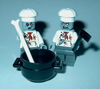 s HALLOWEEN #21 Lego Monster Fighters Chefs Male/Female NEW Authentic Lego