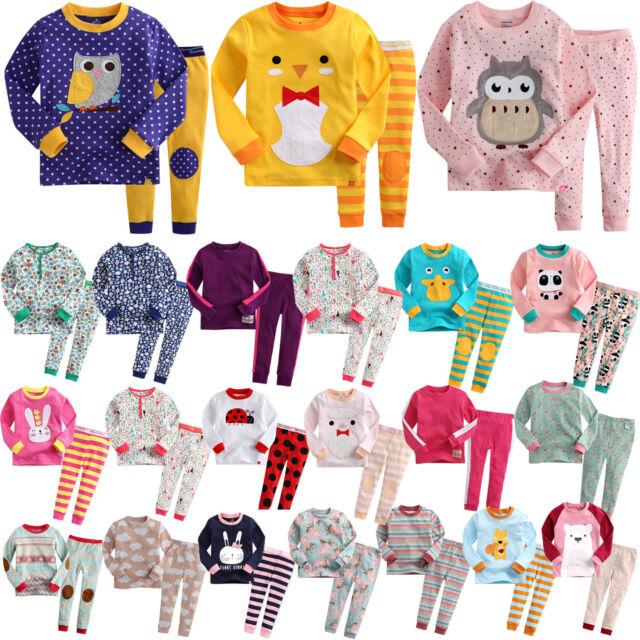 """G.50 Style"" Vaenait Baby Kids Toddler Girls Long Clothes Pyjama Set 12M-7T"
