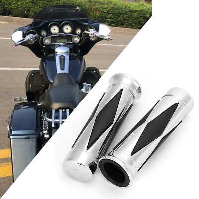 "Motorcycle Hand Grips 1/"" Pair For Harley Davidson XL Sportster 1200 Custom"