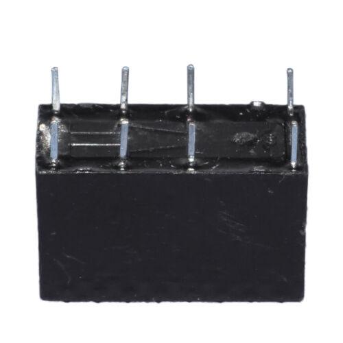 10stk HK19F-DC12V-SHG 8 Pin Power  Relais PCB Modul 1A 125V AC 2A 30V DC