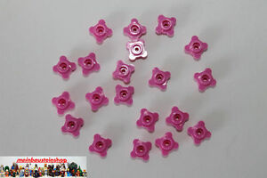Lego-Friends-20X-Blumen-Bluete-Pflanze-Flower-1X1-rosa-Dark-pink-33291-28573