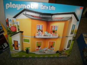 Détails sur PLAYMOBIL City Life moderne habitation Maison de ville 4+ ans  Nº 9266 in neuf dans sa boîte- afficher le titre d\'origine