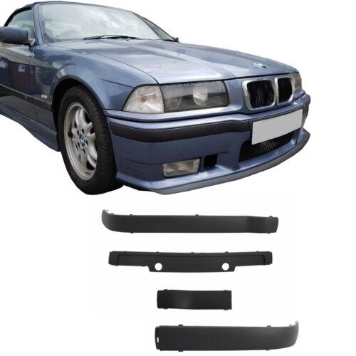 Für  BMW E36 92-98 STOßLEISTEN SET 4 TEILIG FÜR M3 SPORT FRONT STOßSTANGE LE