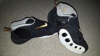 low priced ee59d ae80e NIKE AIR ZOOM GP 10 GARY PAYTON THE GLOVE BLACK WHITE Sz 8.5 FLIGHT PENNY  LEBRON