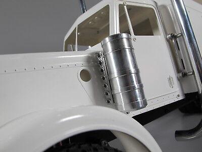 Pair Aluminum Air Intake Tank light Bracket Tamiya RC 1//14 Semi GrandKing Hauler