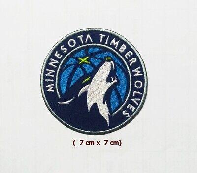 Minnesota Timberwolves Basketball set2pcs patch sport Embroidery iron,sewing on