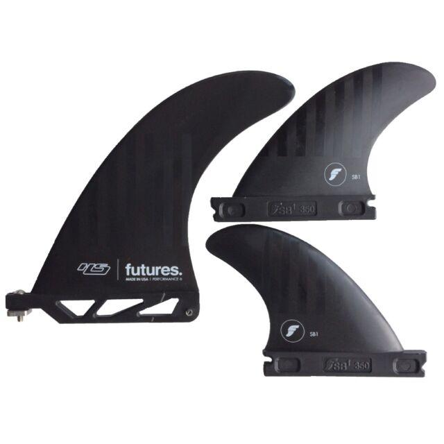 Futures Fins Alpha HS 2 plus 1 Surfboard Fin Set NEW 6 Inch Hayden Shapes 2+1