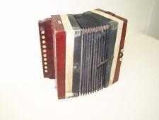 Piccolo vecchio Fisarmonica, Conzertina, fisarmonica Decorazione Superiore