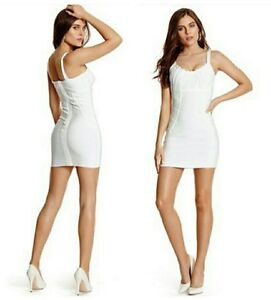 c43ed9020d7 Image is loading GUESS-BY-MARCIANO-GWENETH-BANDAGE-DRESS