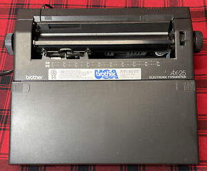 Brother AX-25 Electronic Typewriter - Tested Works